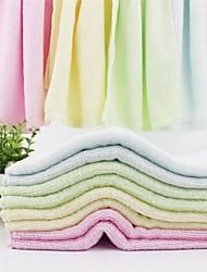 Недорогие -Полотенце для рук,Однотонный Высокое качество 100% бамбуковое волокно Полотенце