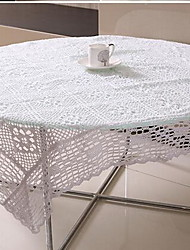 cheap -The New Rural Ecological Hollow Cotton Handmade Crochet Table Cloth(60*60cm)