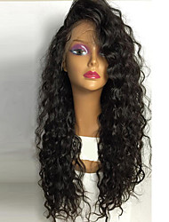 8а полные парики шнурка человеческих волос с волос младенца волна воды бразильские человеческих волос полный парики шнурка