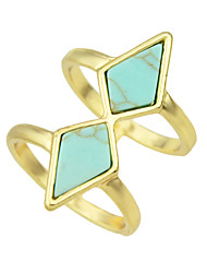 Turquoise Big Size Fingers Rings