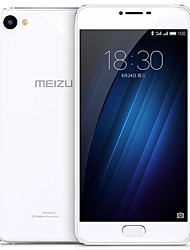 Meizu® U20 5.5 Rear Glass Flyme OS 4G Smartphone (Dual SIM Octa Core 13 MP 2GB 16 GB Silver)