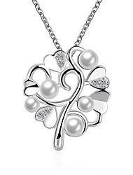 cheap -May Polly Europe and the United States fashion Heart Pendant Necklace