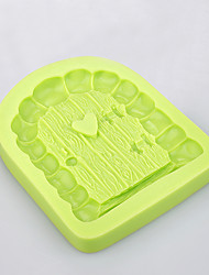 3D Fairytale Castle Door & Window fondant different shape silicone baking molds chocolate candy tools
