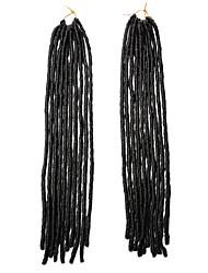 Kukičane pletenice Senegal Pleteni umjetni dredlocksi Umjetni dredlocksi Dreadlock ekstenzije 100% kanekalon dreadlocks Pletenice 20