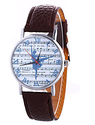 Fashion Girl Quartz Watch Clock Women Leather Casual Dress Women's Music Wristwatch Hot Cool Watches Unique Watches