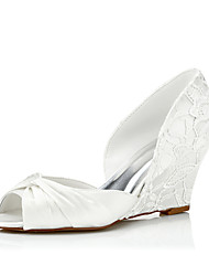 Women's Sandals Spring / Summer / Fall Wedges Lace / Silk Wedding / Party & Evening / Dress