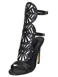 abordables -Femme-Habillé Décontracté Soirée & Evénement--Talon Aiguille-A Bride Arrière club de Chaussures-Sandales-Polyuréthane