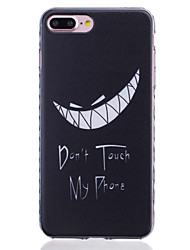 cheap -Painted Tooth Pattern Slip Transparent TPU Material Phone Case for  iPhone 7 7 Plus 6s 6 Plus SE 5s 5 5C