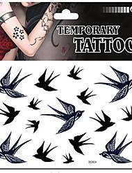 economico -1PCS Tatuaggi adesivi Serie animali Non Toxic / FantasiaBambino / Da donna / Girl / Adulto Tattoo Flash Tatuaggi temporanei