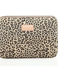 cheap -Classic Leopard Laptop Sleeve Notebook Bag Laptop Case Cover Liner Bag Shockproof 15.6 inch