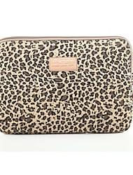 economico -classico laptop leopardo sacchetto della fodera del taccuino manicotto del computer portatile del sacchetto di caso della copertura