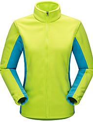 cheap -Women's Hiking Fleece Jacket Outdoor Sweat-wicking Jersey Top Camping / Hiking