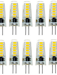 2W G4 LED Bi-pin Lights T 12 SMD 5733 200-300 lm Warm White Cold White 3000/6000 K Waterproof Decorative DC 12 V 10pcs