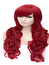 Cosplay Wigs Direct Selling Fashionable Dyed Red