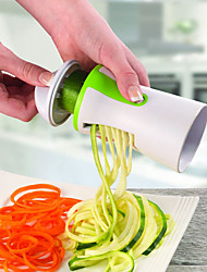 cheap -Vegetable Spiral Slicer Salad Tools Spiral Vegetables Fruit Slicer Zucchini Pasta Noodle Spaghetti Maker