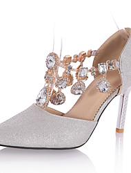 cheap -Women's Heels Spring / Summer / Peep Toe / Pointed Toe Customized Materials Wedding / Party & Evening / Dress