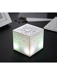 Cool Dazzle Colour Lamp Rubik'S Cube Wireless Bluetooth Speakers Mobile Phone Subwoofer Mini Portable