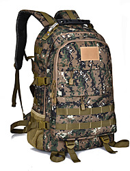 cheap -50L Others / Rucksack / Backpack - Multifunctional Camping / Hiking Digital Jungle, Three Sand Color, Camouflage Green
