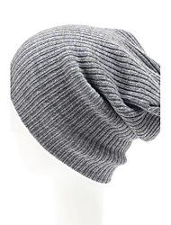 cheap -Unisex's Grid Knitting Weave Beanie Cap