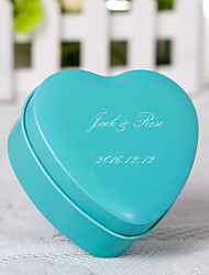 cheap -24 Piece/Set Favor Holder-Heart-shaped Metal Favor Boxes Personalized