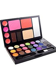 billige -21 Øjenskygger / Pudder Øjne Daglig makeup Makeup Kosmetiske