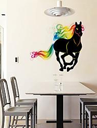 Zvířata Samolepky na zeď Samolepky na stěnu Ozdobné samolepky na zeď,PVC Materiál Omyvatelné / Snímatelné Home dekoraceLepicí obraz na