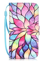 abordables -Funda Para Apple iPhone X / iPhone 8 / iPhone 7 Soporte de Coche / Diseños Funda de Cuerpo Entero Flor Dura Cuero de PU para iPhone X / iPhone 8 Plus / iPhone 8