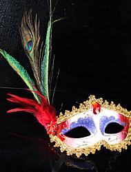 paun pero pero maska stranka lopta maskenbal Maske talijanski princezu Venecije maska žena dama vjenčanje ukras