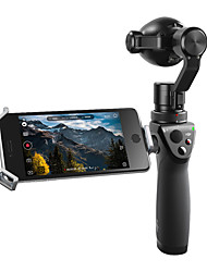 DJI Osmo Plus Stabilized Outdoor 4K Sports Camera Optical and Digital Zoom with Microphone and Mobile Device Support