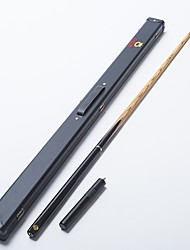 Omin Snooker Cue Professional 3/4 Black Ebony Butt Ash shaft Handmade Billiard Cue Emerald
