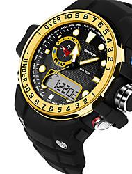 SANDA Da uomo Da coppia Orologio sportivo Orologio militare Smart watch Orologio alla moda Orologio da polsoLED Cronografo Resistente