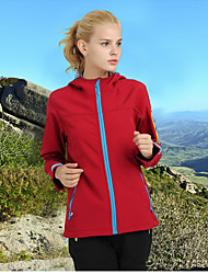 cheap -Unisex Hiking Softshell Jacket Outdoor Winter Waterproof Thermal / Warm Quick Dry Windproof Ultraviolet Resistant Anti-Eradiation