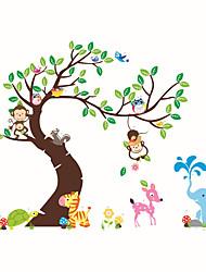 Životinje Moda Botanički Zid Naljepnice Zidne naljepnice Dekorativne zidne naljepnice Visina Naljepnice Početna Dekoracija Zid preslikača