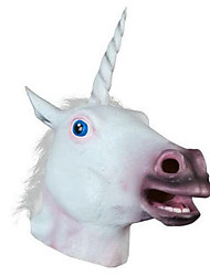 cheap -Halloween Masks Animal Mask Toys Unicorn Polycarbonate Latex Rubber Horror 1 Pieces Halloween Gift