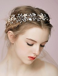 Rhinestone Alloy Headbands Hair Combs Flowers Hair Stick Hair Tool Headpiece