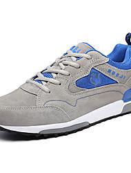 Muške Sneakers Proljeće Jesen Udobne cipele Tkanina Ležeran Ravna potpetica Vezanje Trčanje