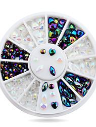 cheap -1 pcs Nail Jewelry Metallic / Fashion Daily Nail Art Design / PVC(PolyVinyl Chloride)