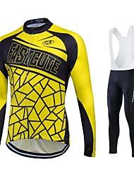 fastcute Biciklistička majica Muškarci Uniseks Dugi rukav BiciklJakna Hlače Shirt Sportska majica Trenirka Flis jakne Biciklistička