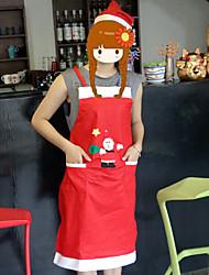 baratos -Tanto homens como mulheres avental decorações de natal do agregado familiar hotel e restaurante de vestuário garçom