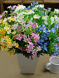 abordables -Fleurs artificielles 1 Une succursale style pastoral Fleurs éternelles Fleur de Table