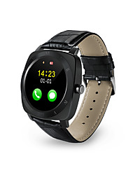 cheap -X3 Bluetooth smart watch phone Wearable Touch Screen Smart Watch w/ Pedometer - Black