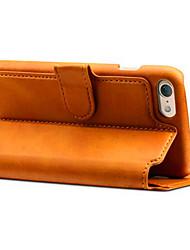 Per iPhone X iPhone 8 iPhone 8 Plus iPhone 7 iPhone 7 Plus Custodie cover A portafoglio Porta-carte di credito Con supporto Con chiusura