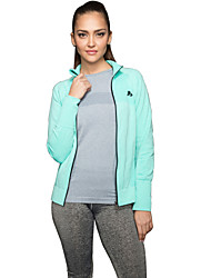 cheap -Women's Long Sleeve Sports Jacket Fitness Gym Quaick Dry Tops
