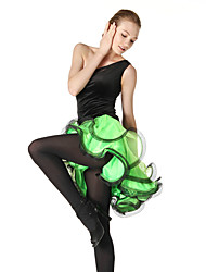 Shall We Latin Dance Dresses&Skirts Women Performance / Training Crepe / Velvet / Viscose Ruched 1 Piece 5 Colors