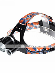 cheap -U'King ZQ-X820 Headlamps Headlight LED 2000 lm 4 Mode Cree XM-L T6 Alarm Rechargeable Compact Size Easy Carrying Camping/Hiking/Caving