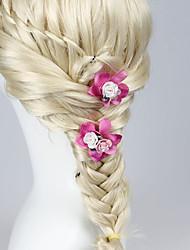 cheap -Resin Fabric Hair Clip 1 Wedding Headpiece