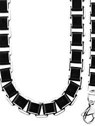 Homens Mulheres Feminino Conjunto de Jóias Colar / Pulseira Moda Colares Bracelete Para Casamento Festa Diário Casual Presentes de