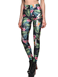cheap -Women's New Fashion new style prints of the women's elastic leggings