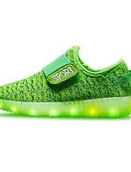 cheap -LED Light Up Shoes, Boy's Sneakers Spring / Summer / Fall Comfort / Round Toe / Flats Tulle Party & Evening / Athletic