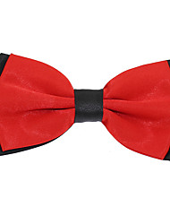cheap -Men's Party Work Basic Polyester Bow Tie - Jacquard